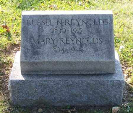 REYNOLDS, MARY - Huron County, Ohio | MARY REYNOLDS - Ohio Gravestone Photos