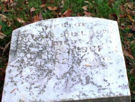 BROWN SHELDON, JOANNA - Huron County, Ohio | JOANNA BROWN SHELDON - Ohio Gravestone Photos