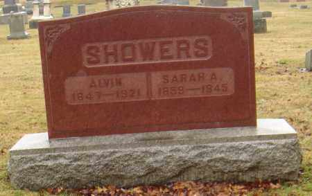 SHOWERS, SARAH - Huron County, Ohio | SARAH SHOWERS - Ohio Gravestone Photos
