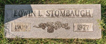 STOMBAUGH, EDWIN L - Huron County, Ohio | EDWIN L STOMBAUGH - Ohio Gravestone Photos