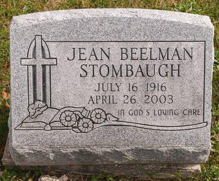STOMBAUGH, JEAN - Huron County, Ohio | JEAN STOMBAUGH - Ohio Gravestone Photos
