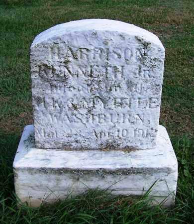 WASHBURN JR., HARRISON KENNETH - Huron County, Ohio | HARRISON KENNETH WASHBURN JR. - Ohio Gravestone Photos