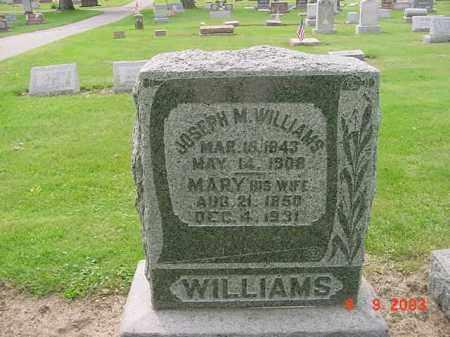 WILLIAMS, MARY - Huron County, Ohio | MARY WILLIAMS - Ohio Gravestone Photos