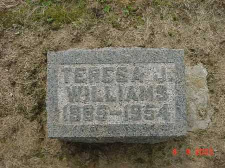 WILLIAMS, TERESA J. - Huron County, Ohio | TERESA J. WILLIAMS - Ohio Gravestone Photos