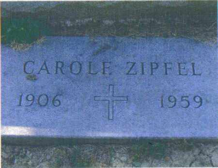 ZIPFEL, CAROLE - Huron County, Ohio   CAROLE ZIPFEL - Ohio Gravestone Photos