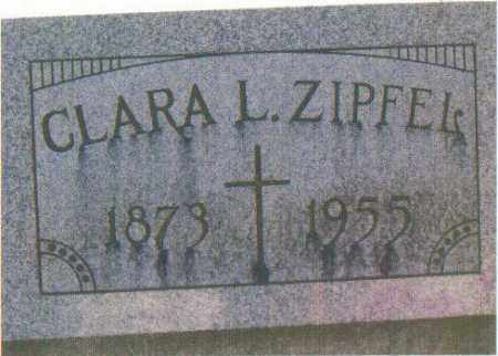 ZIPFEL, CLARA L. - Huron County, Ohio | CLARA L. ZIPFEL - Ohio Gravestone Photos