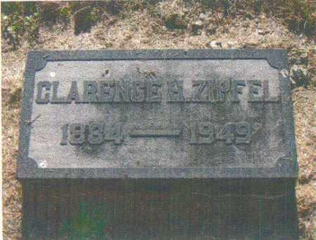 ZIPFEL, CLARENCE H. - Huron County, Ohio   CLARENCE H. ZIPFEL - Ohio Gravestone Photos