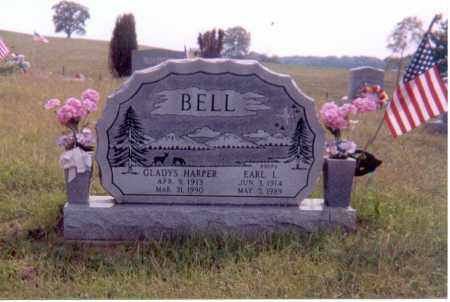 HARPER BELL, GLADYS - Jackson County, Ohio | GLADYS HARPER BELL - Ohio Gravestone Photos