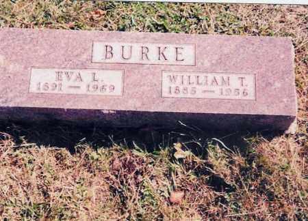 BURKE, EVA L. - Jackson County, Ohio | EVA L. BURKE - Ohio Gravestone Photos