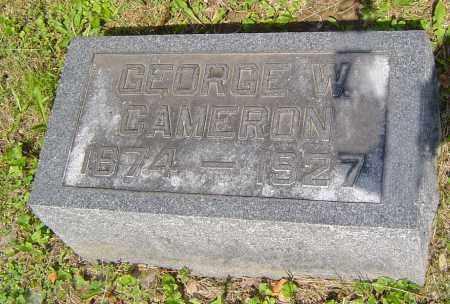 CAMERON, GEORGE - Jackson County, Ohio | GEORGE CAMERON - Ohio Gravestone Photos