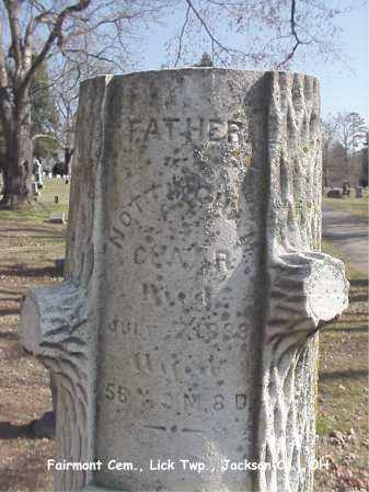 CLAAR, NOTTINGHAM - Jackson County, Ohio | NOTTINGHAM CLAAR - Ohio Gravestone Photos