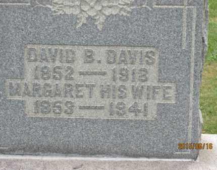 DAVIS, DAVID - Jackson County, Ohio   DAVID DAVIS - Ohio Gravestone Photos
