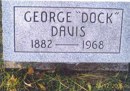 "DAVIS, GEORGE  EDMOND ""DOCK"" - Jackson County, Ohio 