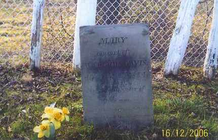 TRACY DAVIS, MARY - Jackson County, Ohio | MARY TRACY DAVIS - Ohio Gravestone Photos