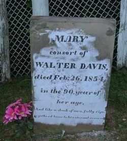 DAVIS, MARY - Jackson County, Ohio | MARY DAVIS - Ohio Gravestone Photos