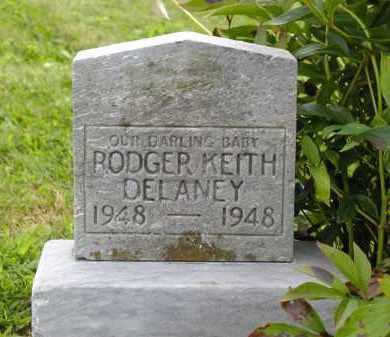 DELANEY, RODGER KEITH - Jackson County, Ohio   RODGER KEITH DELANEY - Ohio Gravestone Photos