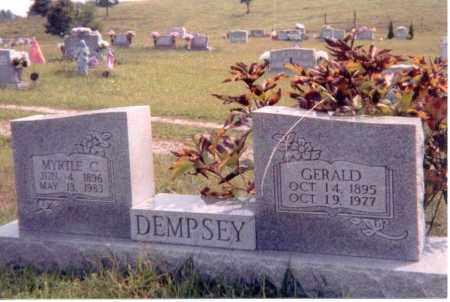 DEMPSEY, GERALD - Jackson County, Ohio | GERALD DEMPSEY - Ohio Gravestone Photos