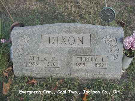 DIXON, TURLEY - Jackson County, Ohio | TURLEY DIXON - Ohio Gravestone Photos