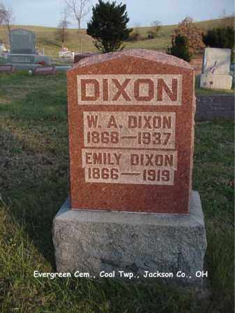 DIXON, WILLIAM - Jackson County, Ohio | WILLIAM DIXON - Ohio Gravestone Photos