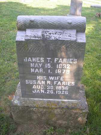 SAMS FARIES, SUSAN RACHEL - Jackson County, Ohio | SUSAN RACHEL SAMS FARIES - Ohio Gravestone Photos