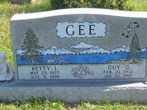GEE, BETTY  L. - Jackson County, Ohio | BETTY  L. GEE - Ohio Gravestone Photos