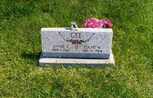 GEE, ANNIE E - Jackson County, Ohio | ANNIE E GEE - Ohio Gravestone Photos