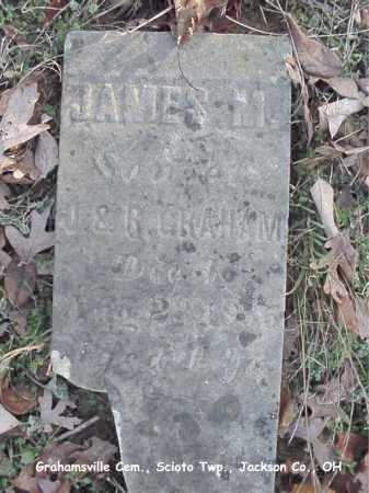 GRAHAM, JAMES - Jackson County, Ohio | JAMES GRAHAM - Ohio Gravestone Photos