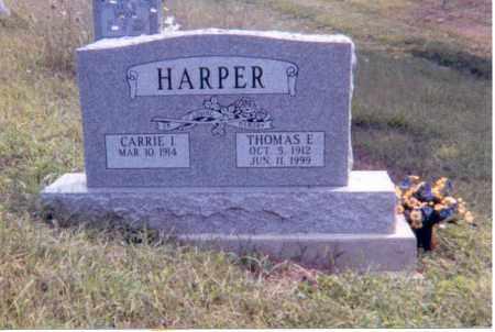 HARPER, THOMAS E. - Jackson County, Ohio | THOMAS E. HARPER - Ohio Gravestone Photos