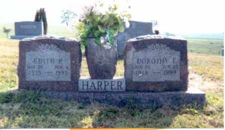 HARPER, EDITH P. - Jackson County, Ohio | EDITH P. HARPER - Ohio Gravestone Photos