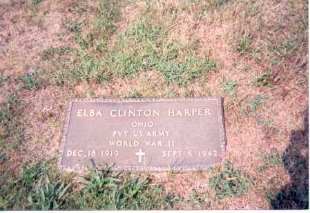 HARPER, ELBA CLINTON - Jackson County, Ohio | ELBA CLINTON HARPER - Ohio Gravestone Photos