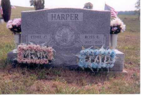 HARPER, ROSS E. - Jackson County, Ohio | ROSS E. HARPER - Ohio Gravestone Photos