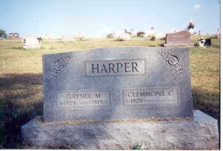 HARPER, GAYNEL M. - Jackson County, Ohio | GAYNEL M. HARPER - Ohio Gravestone Photos