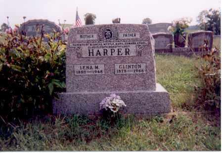 SEYFORD HARPER, LENA M. - Jackson County, Ohio | LENA M. SEYFORD HARPER - Ohio Gravestone Photos