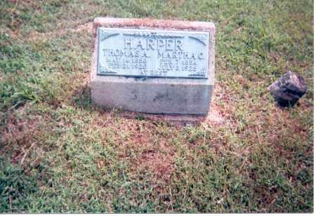 HARPER, THOMAS A. - Jackson County, Ohio | THOMAS A. HARPER - Ohio Gravestone Photos