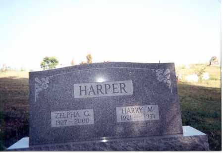 WORTZ HARPER, ZELPHA G. - Jackson County, Ohio   ZELPHA G. WORTZ HARPER - Ohio Gravestone Photos
