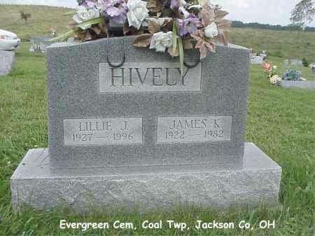 HIVELY, JAMES - Jackson County, Ohio | JAMES HIVELY - Ohio Gravestone Photos