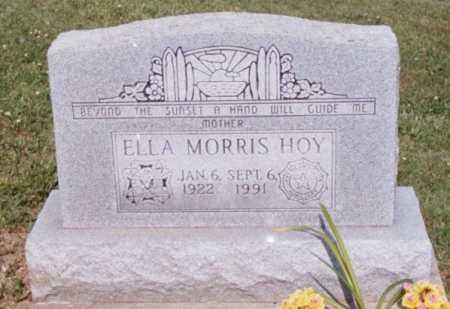 SPARKS HOY, ELLA - Jackson County, Ohio | ELLA SPARKS HOY - Ohio Gravestone Photos