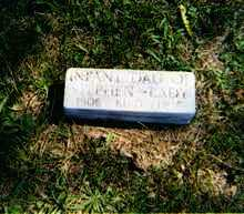 KING, INFANT - Jackson County, Ohio | INFANT KING - Ohio Gravestone Photos
