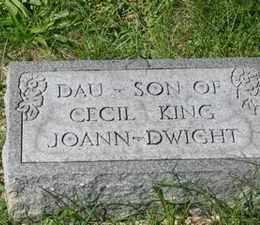 KING, DWIGHT - Jackson County, Ohio | DWIGHT KING - Ohio Gravestone Photos