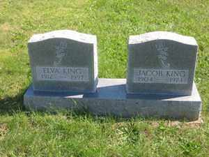 KING, ELVA - Jackson County, Ohio | ELVA KING - Ohio Gravestone Photos