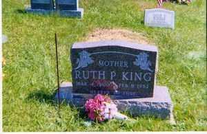 WELSH KING, RUTH  P. - Jackson County, Ohio | RUTH  P. WELSH KING - Ohio Gravestone Photos