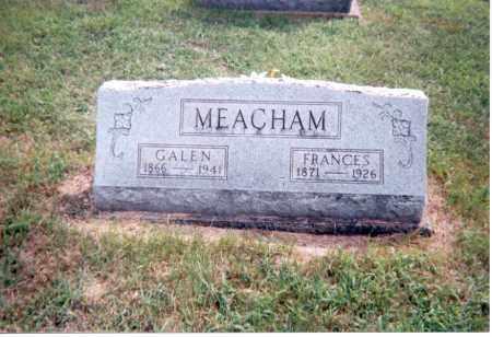 MEACHAM, GALEN - Jackson County, Ohio   GALEN MEACHAM - Ohio Gravestone Photos