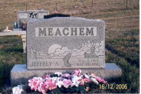 MEACHEM, JEFFREY A. - Jackson County, Ohio | JEFFREY A. MEACHEM - Ohio Gravestone Photos