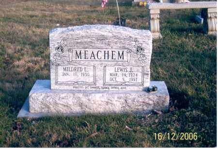 MEACHEM, MILDRED L. - Jackson County, Ohio | MILDRED L. MEACHEM - Ohio Gravestone Photos
