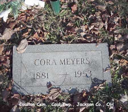 MEYERS, CORA - Jackson County, Ohio | CORA MEYERS - Ohio Gravestone Photos