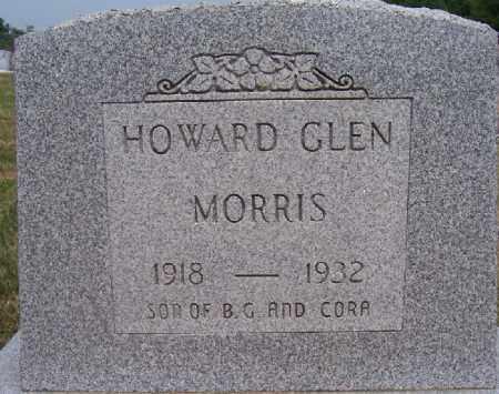 MORRIS, HOWARD GLEN - Jackson County, Ohio | HOWARD GLEN MORRIS - Ohio Gravestone Photos