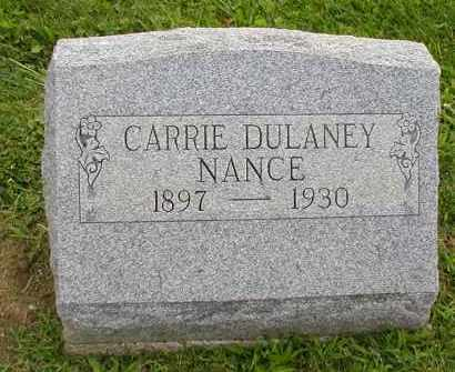 NANCE, CARRIE - Jackson County, Ohio | CARRIE NANCE - Ohio Gravestone Photos