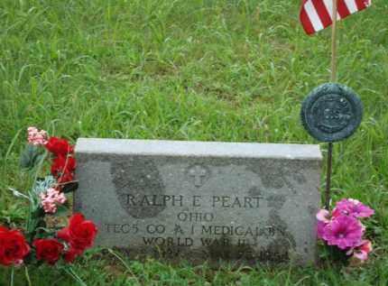PEART, RALPH E. - Jackson County, Ohio   RALPH E. PEART - Ohio Gravestone Photos