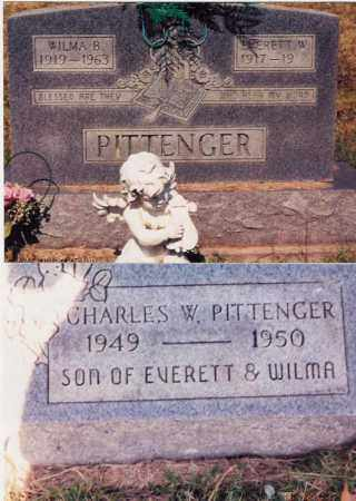 PITTENGER, CHARLES W. - Jackson County, Ohio | CHARLES W. PITTENGER - Ohio Gravestone Photos