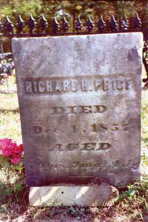 PRICE, RICHARD HAMMOND - Jackson County, Ohio   RICHARD HAMMOND PRICE - Ohio Gravestone Photos